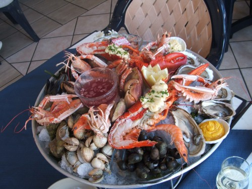 a gratuitous photo of fruit de mer